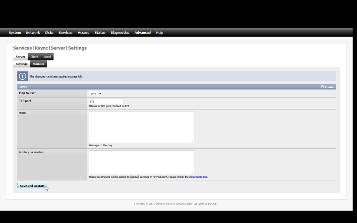 Backup FreeNAS Files Remotely Using FreeBSD and rsync « iceflatline