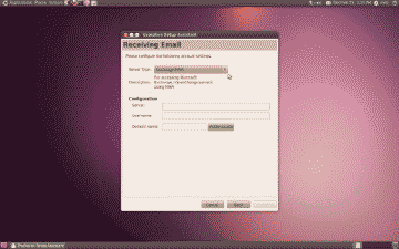 Screenshot of the Evolution mail setup assistant